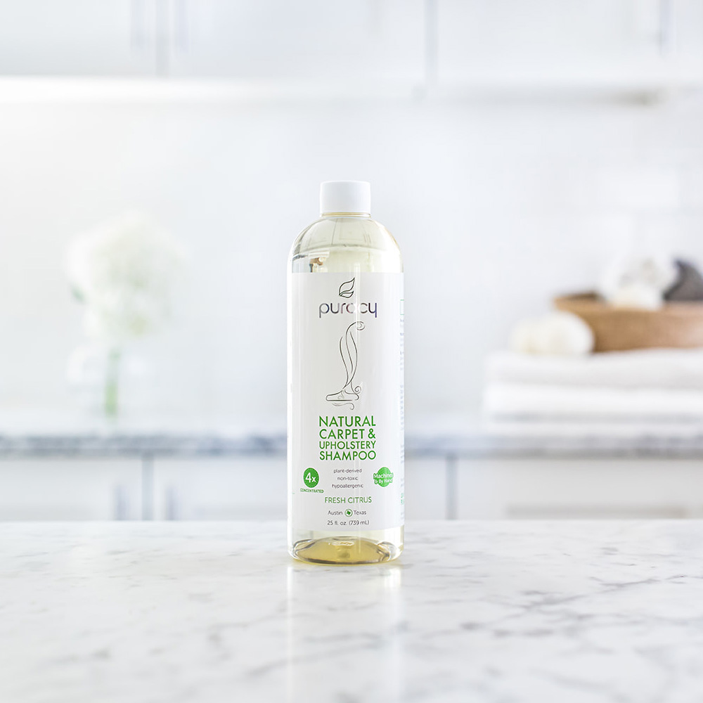 Natural Carpet & Upholstery Shampoo - Fresh Citrus / 25oz