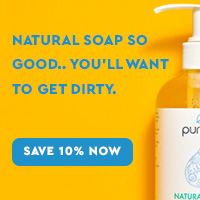 Save 10% on Natural Soap