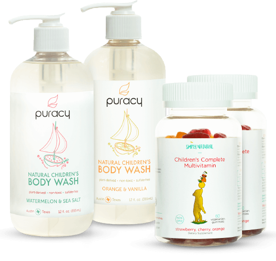 20% off body wash + gummy vitamins